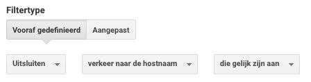 google analytics: referral spam filter