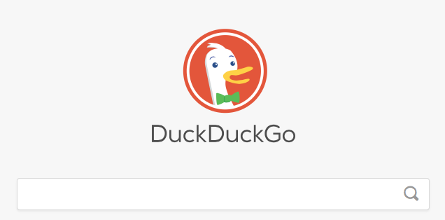 Duckduckgo zoekmachine