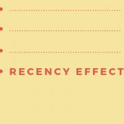 Recency Effect