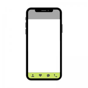 tab bar menu voorbeeld