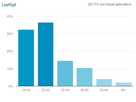 Bepalen van je doelgroep met Google Analytics
