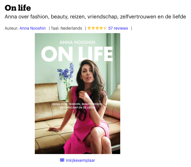 Boek van een bekende Nederlander waarbij het halo-effect kan optreden